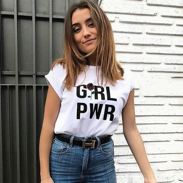 Girl Power Women T shirt PTC 52 //Price: $11.62 & FREE Shipping //     #accesories