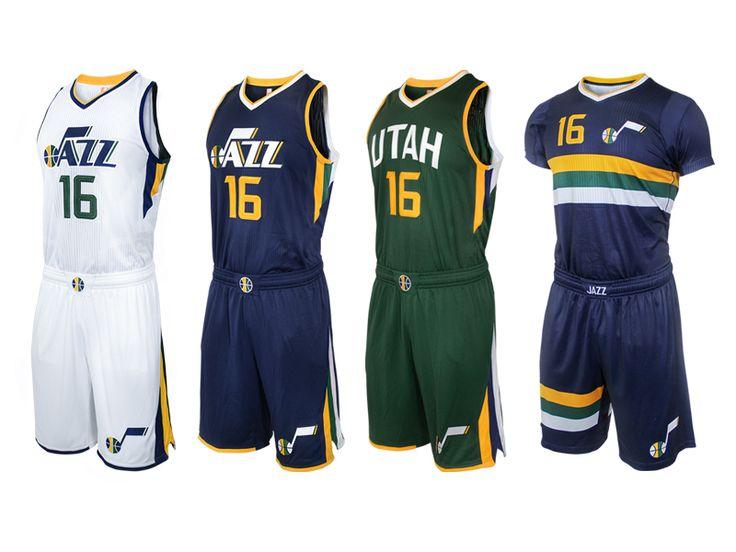 Utah Jazz Uniforms