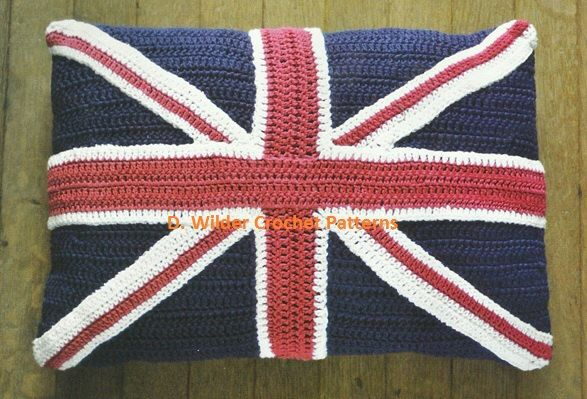 PDF Union Jack Crochet Cushion Pattern Shops, Union jack and Jack ocon...