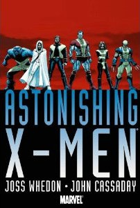 Astonishing X-Men Omnibus.   Joss Whedon & John Cassadry  Whedon's love for the X-Men exists on every single page of this gorgeous, hilarious and heart-wrenching collection.
