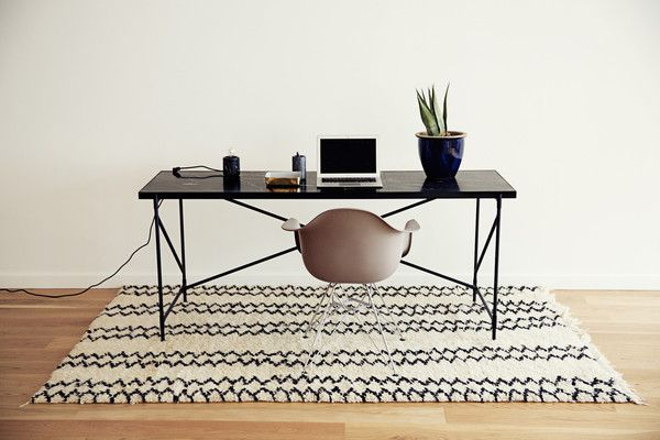 About the design This piece is our pride and joy at HANDVÄRK. Size-wise the table is on the borderline between a large desk for the cool office,