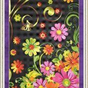 Summer Garden Cross Stitch - via @Craftsy