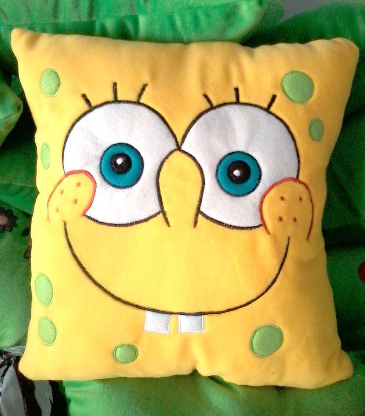 #Spongebob #FunnyPillow  www.bantallucu.com