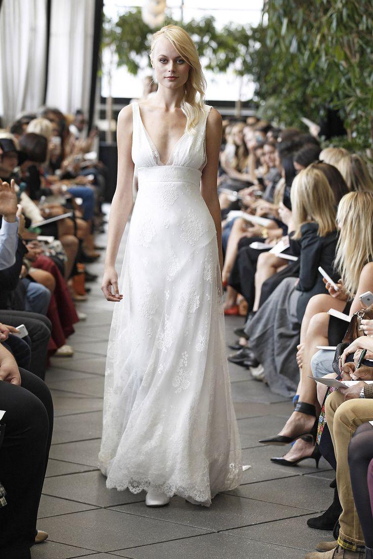 Robe de mariée longue Harold Lily - Sélection Couture 2016 - Pagan Bride Campagne - Delphine Manivet