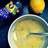 Lekka zupa cytrynowa  z kuskusem
