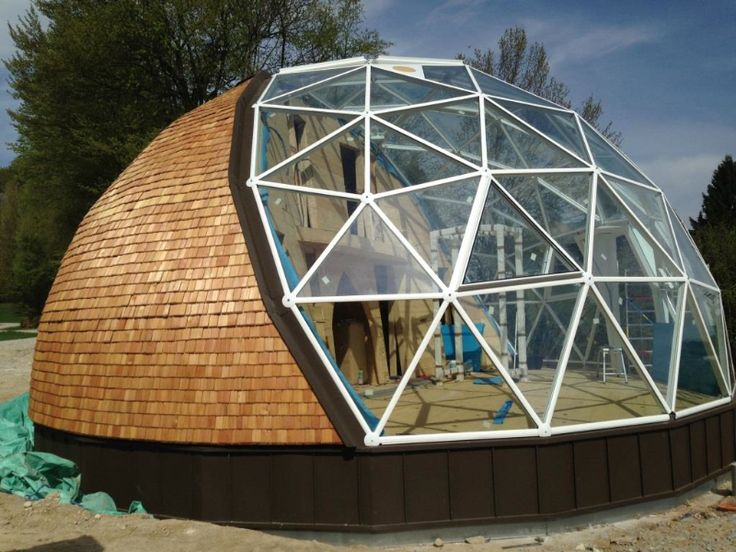 138 best geodesic dome images on pinterest geodesic dome for Geodesic home plans