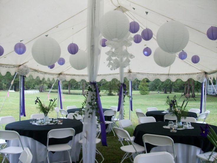 gazebo graduation party | party tent decoration ideas | Tent Idea