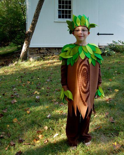 Announcing Kid's Halloween Costume Kits from Purl Soho! Se puede hacer con bolsas este disfraz de árbol http://www.multipapel.com/subfamilia-bolsas-basura-colores-para-disfraces.htm