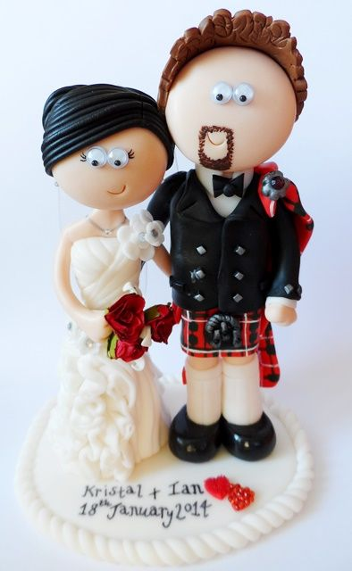 celtic wedding cake toppers uk 45 best scottish amp groom wedding cake toppers images 12477