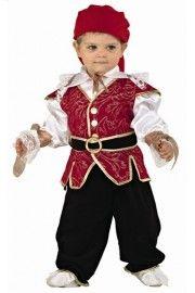 Erkek Bebek Korsan Kostümü