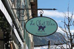 """assiette de restaurant """"le chat bleu"""" - Recherche Google"""