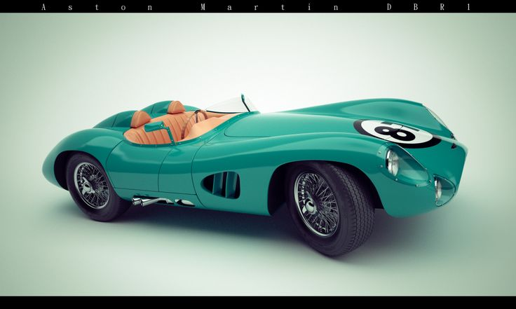 Aston Martin DBR 1 | Freelancers 3D