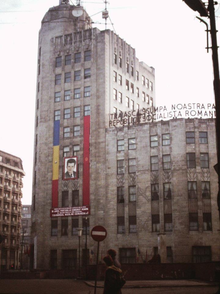 1984-1986 Calea Victoriei - Palatul telefoanelor
