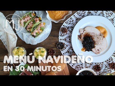 CÓMO PREPARAR UN MENÚ DE NAVIDAD EN 30 MINUTOS... ¡Y QUEDAR COMO UN REY! - YouTube