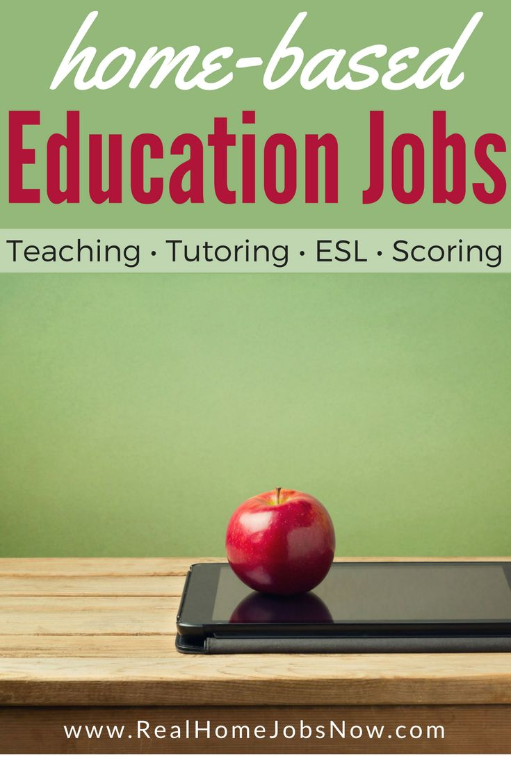 You can also find online education positions