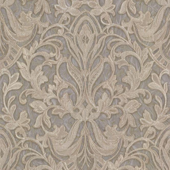 Primadonna Damask Wallpaper Beige Grey Gold Damask Wallpaper Grey And Gold Wallpaper Glitter Wallpaper
