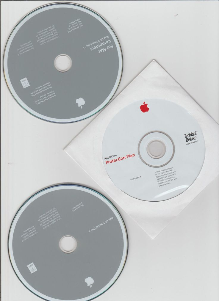 AppleCare Protection Plan for iMac MA520LL/A iMac used discs see pics