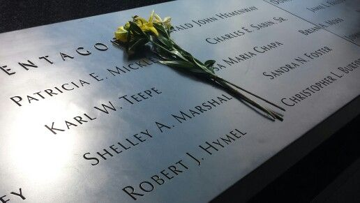 In memory of those lives lost on a day that changed the world