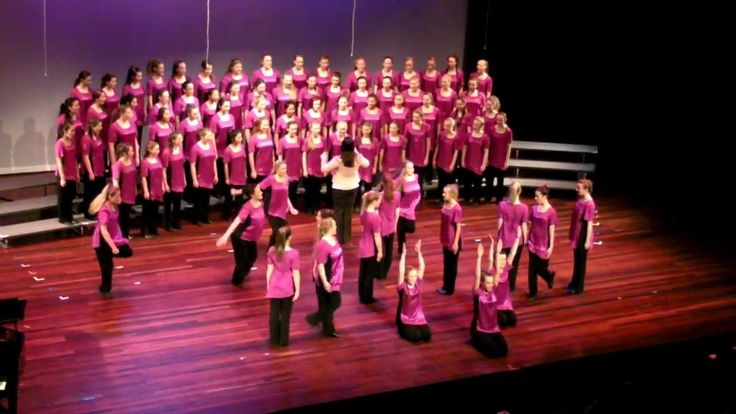 Australian Girls Choir (AGC) Adele Cover-Rolling in the Deep & Water of ...
