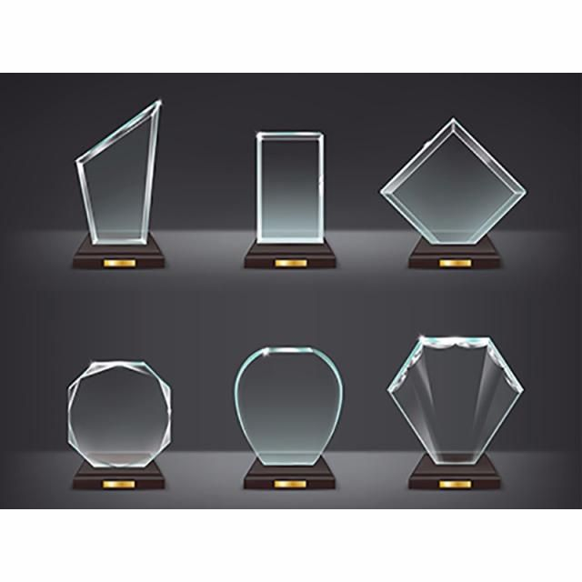 Collection Vector Illustration Of Modern Glass Trophies Glass Clipart Glass Trophy Png And Vector With Transparent Background For Free Download Modern Glass Glass Trophies Vector Illustration