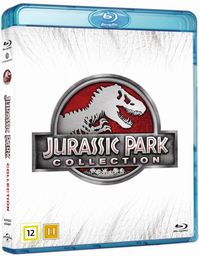 Jurassic Park Collection (Blu-ray) (4 disc)