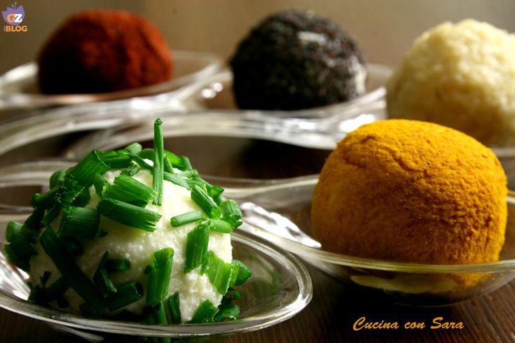Palline di formaggio - ricetta finger food