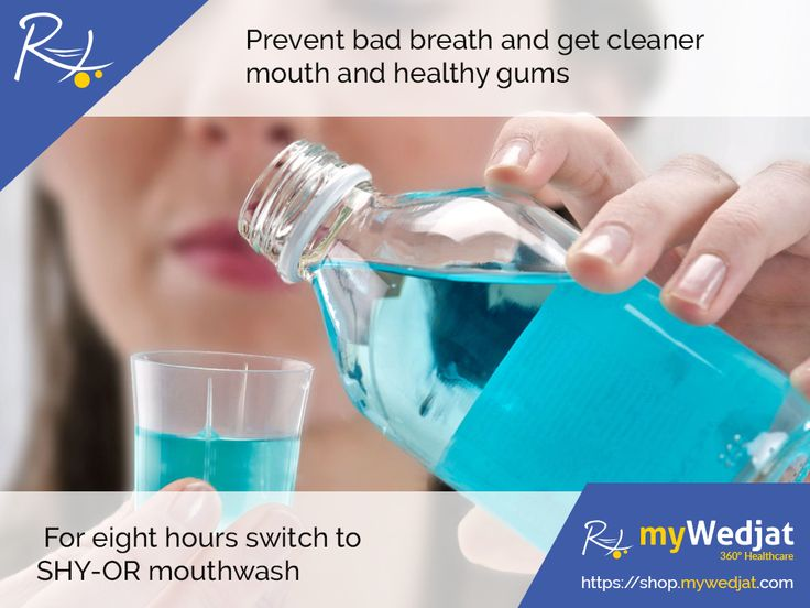 Prevent bad breath and get cleaner mouth and healthy gums For eight hours switch to SHY-OR mouthwash  https://goo.gl/rK28u9  #MyWedjat #Mouthwash #DentalCare