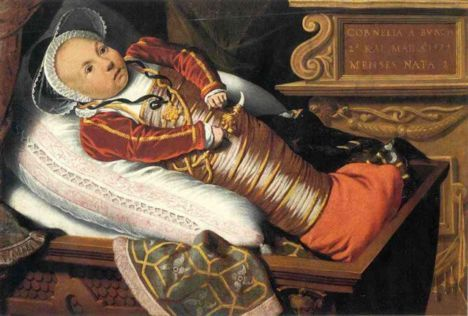 Activities re. childhood in tudor times. Tudor babies are thought to have been swaddled for the first year.