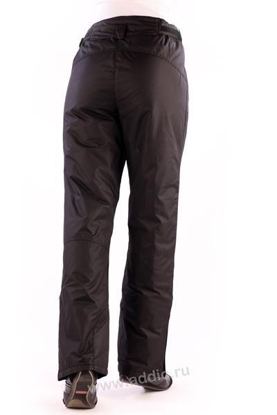Утепленные женские брюки с манжетой