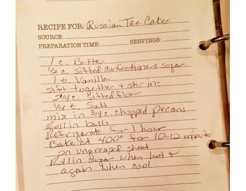 Lisa Robertson's (QVC) Russian Tea Cakes 12/11/14