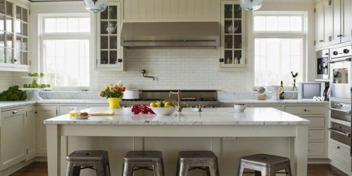 40 moderne Küchen in Weiß faszinieren durch Schick und - Nolte Küchen Fronten Farben