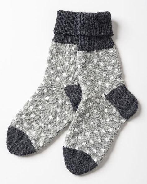 Prickiga strumpor i Novita Nalle och Novita Wool   Novita knits