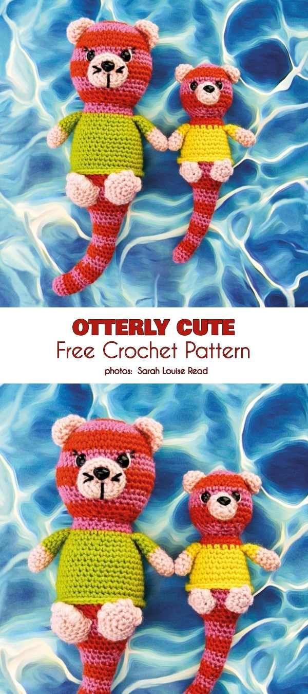 Otterly Cute Free Crochet Pattern Amigurumi Toys Free Crochet