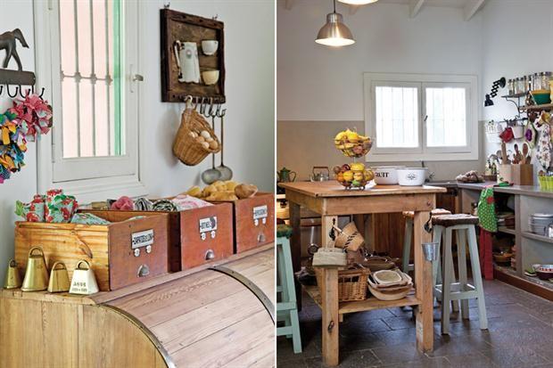 Una casa con estilo campo as - Casas con estilo ...