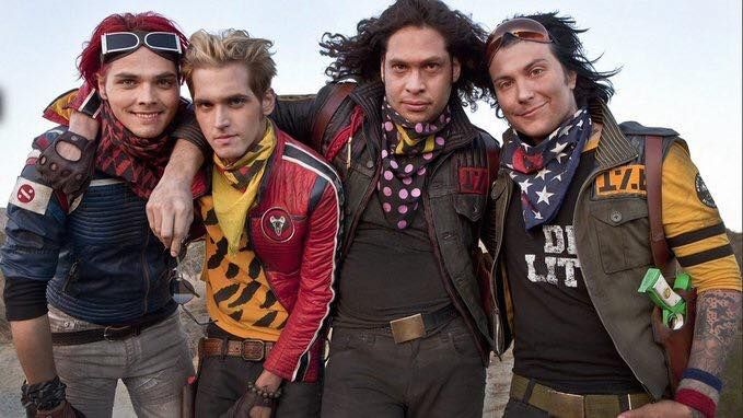 MCR- Danger Days: the true fabulous lives of the killjoys