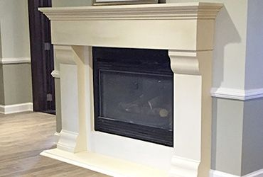 Custom Marble Fireplace Mantels and Surrounds. Limestone fireplace mantels and cast stone surrounds in a variety of styles and sizes. Huge sale stock
