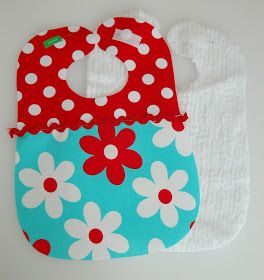 I have been making these chenille backed bibs as gifts for friends and more recently as part of the baby gift sets  that I sell in m...