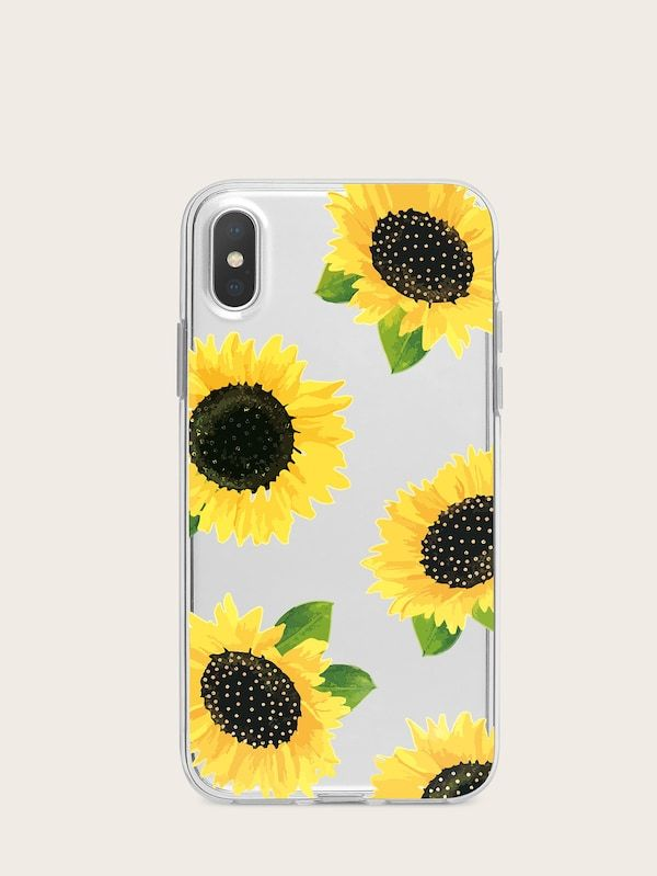 1f2c5111bb Sunflower Pattern iPhone Case | SHEIN | Gifts, Gadgets, and Goodies ...