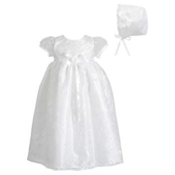 Picture Perfect Floral Organza Dress - Baby Girl