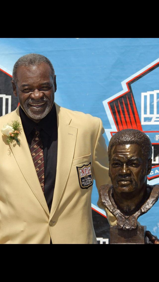 Rayfield Wright - Hall of Fame - Dallas Cowboys