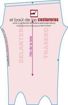 EL BAÚL DE LAS COSTURERAS: Calza o leggins con estribo