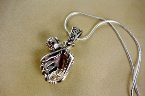 BASEBALL PENDANT WITH SILVER CHAIN GIFT NECKLACE, $9.95