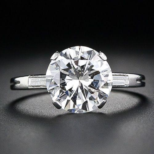 Boucheron 3.05 Carat Engagement Ring - 10-1-4717 - Lang Antiques  In my dreams!