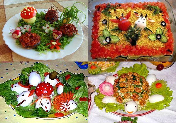 Рецепты блюд на детский праздник сладкий салат