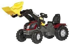 ROLLY TOYS Conjunto tractor John Deere 6210 con pala frontal Rolly Trac Tractores a pedales y accesorios., Vehículos de juguete, Juguetes, en Neurika encontrarás los precios claros