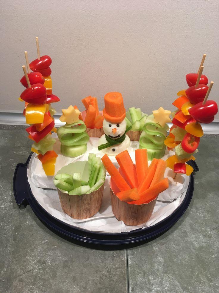 Kinder Gemüseteller Buffet