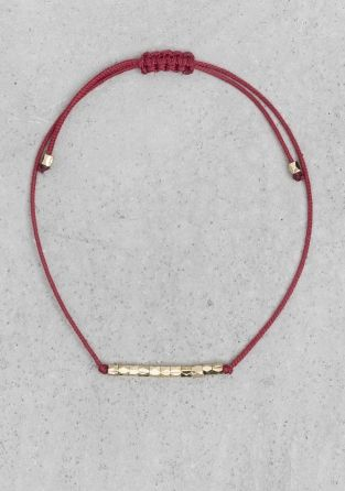 & Other Stories | Cotton cord bracelet