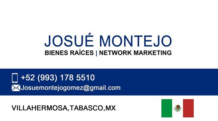 Nos especializamos en la comercialización Inmobiliaria Bienes Raíces Comercial, Residencial,  Agropecuario, Turístico, Habitacional,  Industrial y Network Marketing.  Contactanos: Tel/whatsapp +52 993 178 5510 E-mail. Josuemontejogomez@gmail.com Oficina.Villahermosa, Tabasco, México.