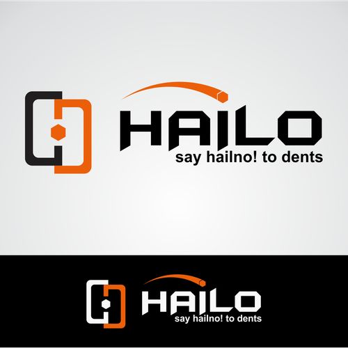 Create a logo for a company specializing in fixing hail damaged automobiles