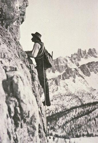 Italian Vintage Photographs ~ #Italy #Italian #vintage #photographs ~ Cortina d'Ampezzo